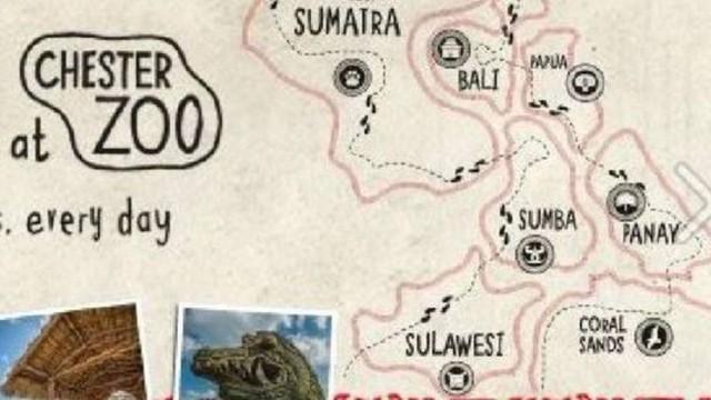 Pulau-pulau Indonesia di Chester Zoo (Foto: Chester Zoo)
