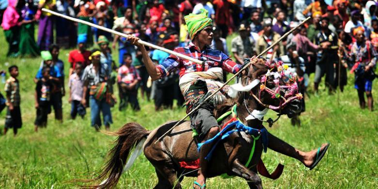 Joki Pasola (Foto: Barry Kusuma / KOMPAS TRAVEL)