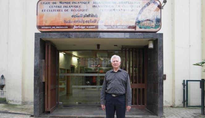 Syarif Abdullah Alqadrie, pengurus Masjid Agung Brussels. (Renne Kawilarang / Viva.co.id)