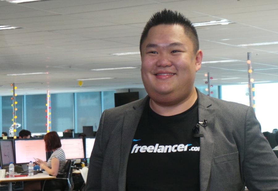 Willix Halim di kantornya. (Foto: Hany Koesumawardani / radioaustralia.net.au)
