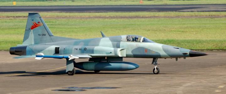 F5 Tiger yang digunakan TNI AU