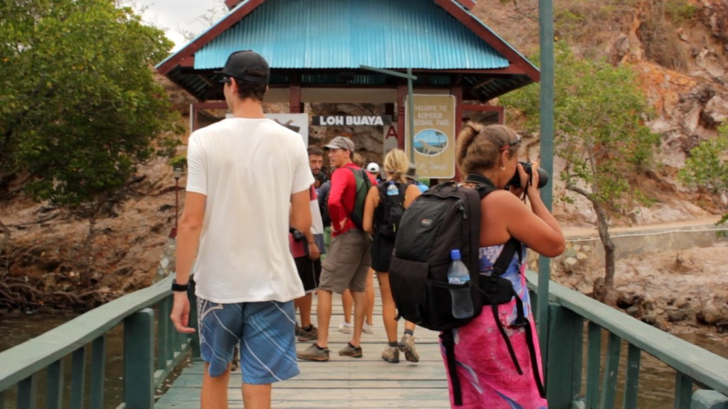 Pintu Masuk Loh Buaya, Pulau Rinca (Foto: Bagus DR / GNFI)