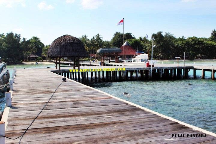 Pulau Pantara Wisata Kepulauan Seribu Resort