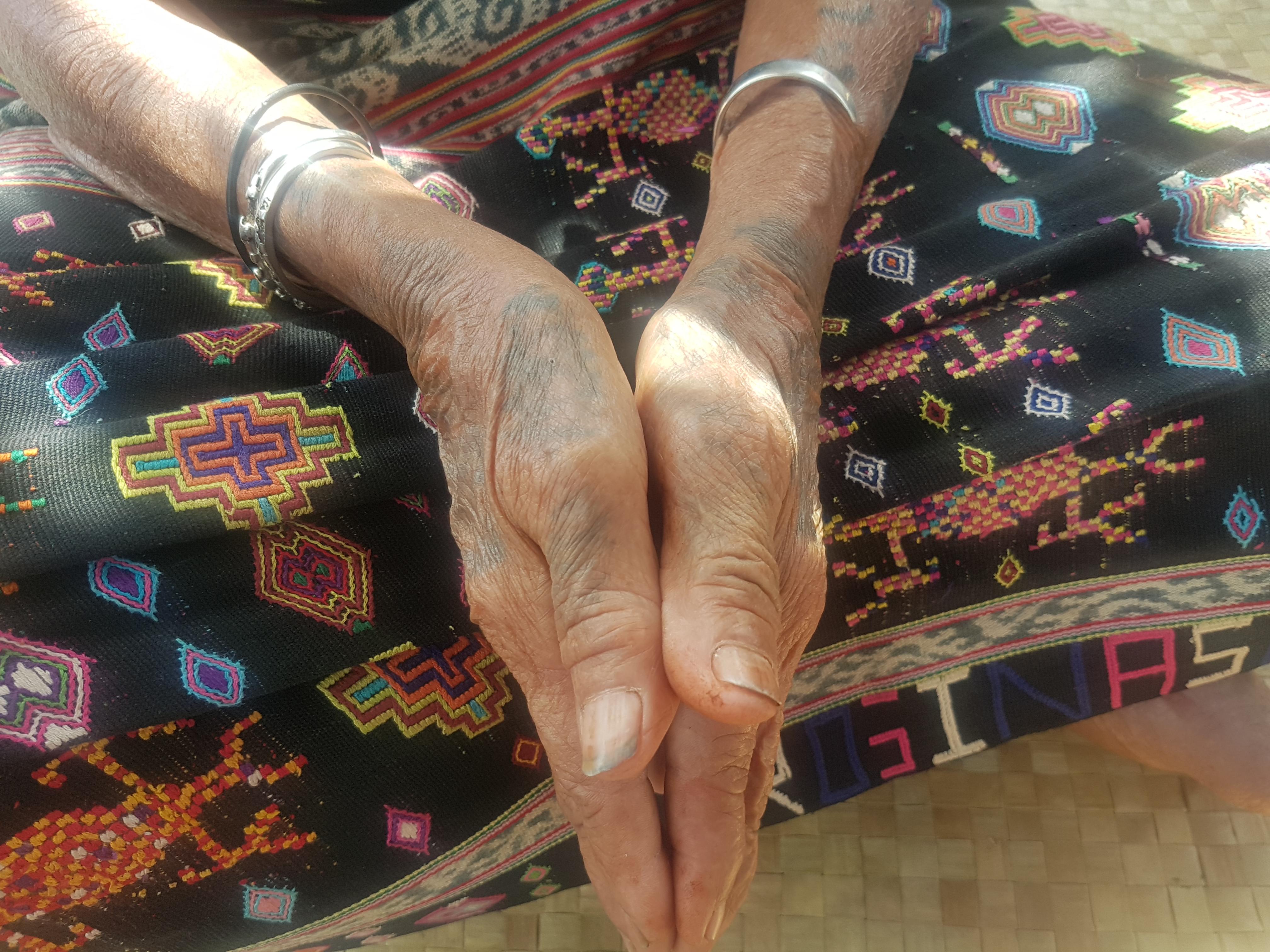 Tato para wanita di Suku Belu | Foto: tempo-institute.org