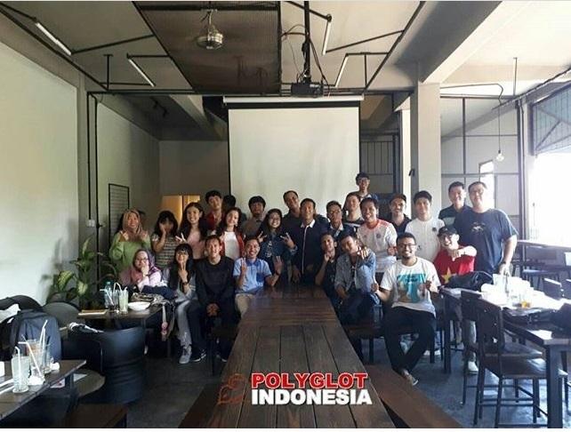 Polyglot Indonesia Surabaya Meet up last Saturday (2/9) discussed The Spirit of SEA games. Taken from instagram @polyglotindonesia.