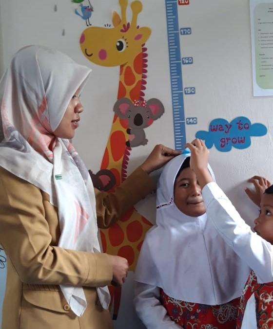 Suasana belajar di kelas Bu Indri | Foto: Tanoto Foundation
