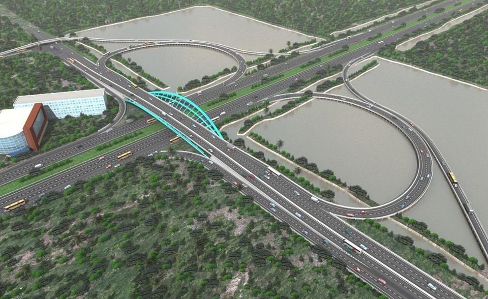 Jembatan baru di Bandara Soetta menyerupai bentuk separuh daun semanggi | Foto: PT. Angkasa Pura II