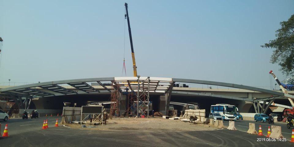 Proyek pembangunan ECT sudah mencapai 98 persen   Foto: PT. Angkasa Pura II (Persero)