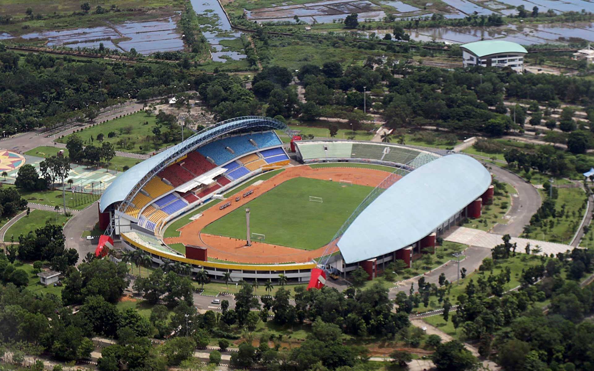 Stadion Gelora Sriwijaya Jakabaring | Foto: timindonesia.id