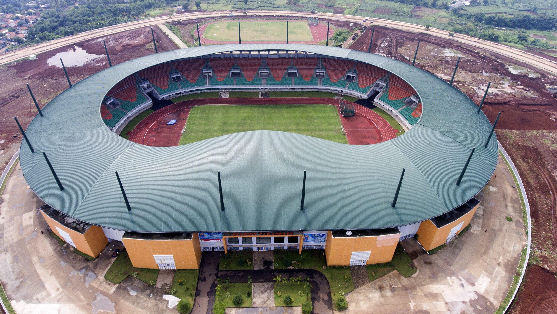 Stadion Pakansari di Bogor | Foto: Andika Wahyu/ANTARA Foto