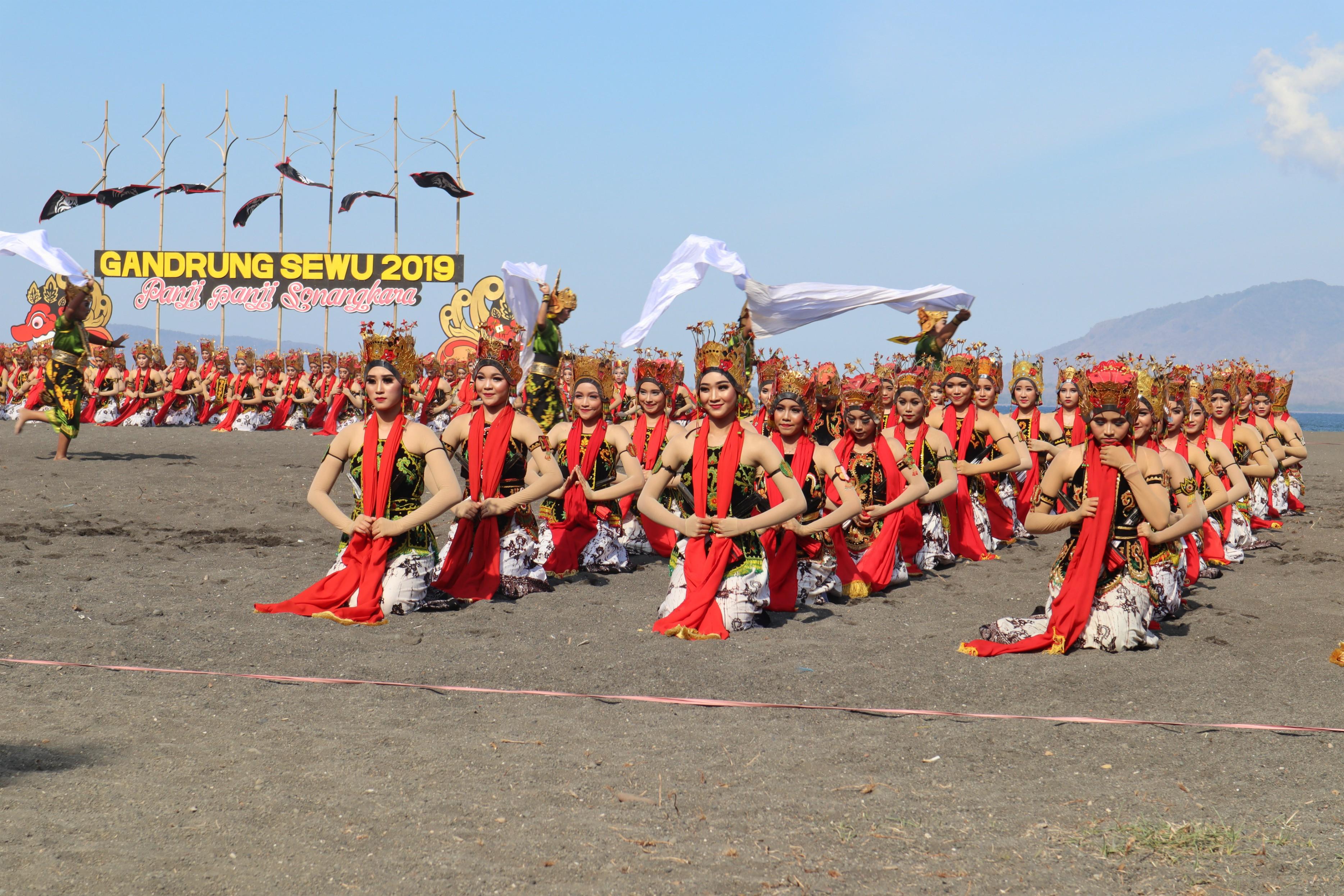 Festival Gandrung Sewu sudah diadakan sejak 2012 | Foto: Martha Tilaar