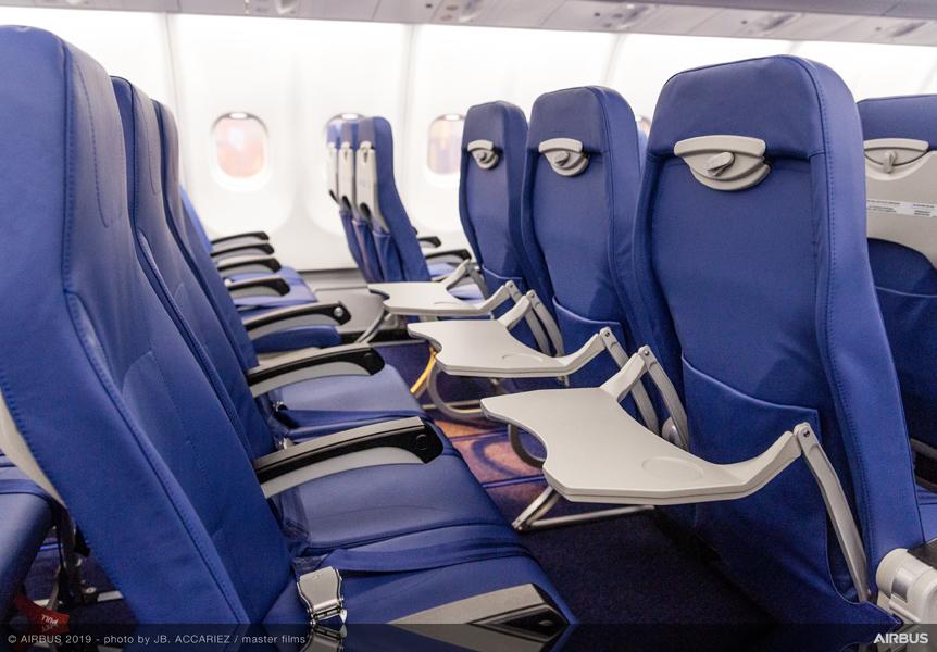 Bentuk kursi di A330-900NEO | Foto: Airbus