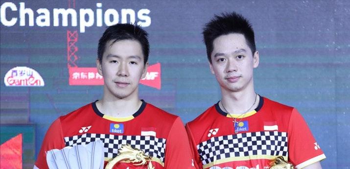 Kevin/Marcus juara China Open 2019 | Foto: PBSI
