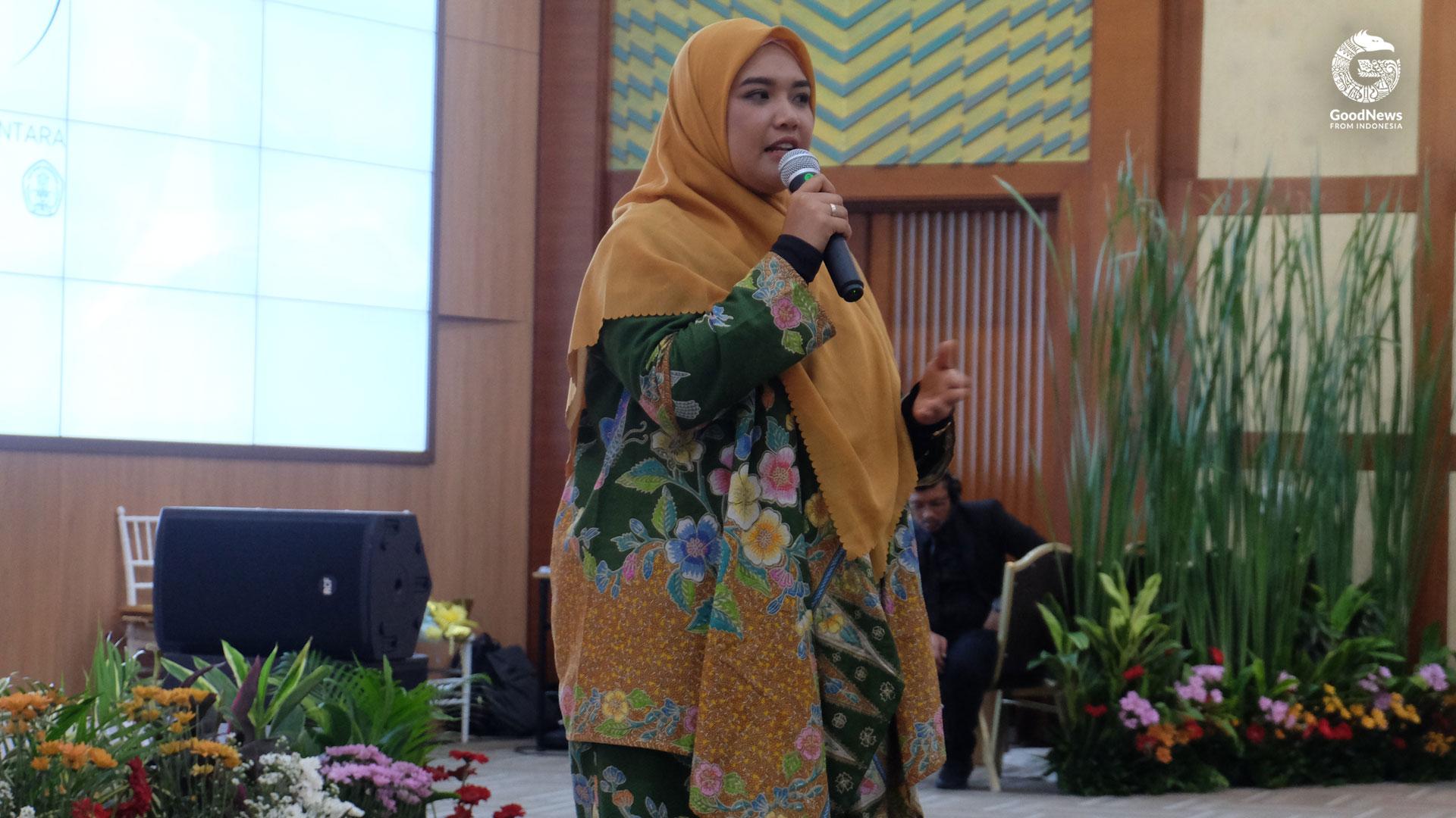 Dr. Rer. Nat. Ayu Savitri Nurinsiyah, M.IL., M.Sc. | Foto: Ariefiani Harahap/GNFI