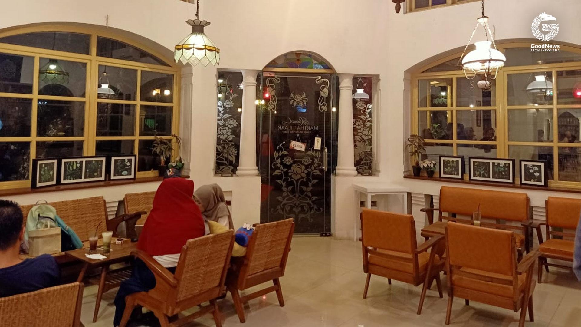 Roemah Kopi di Roemah Martha Tilaar | Foto: Della Aniswara/GNFI