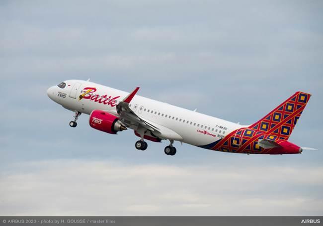 Pesawat A320-200NEO Batik Air | Foto: Airbus
