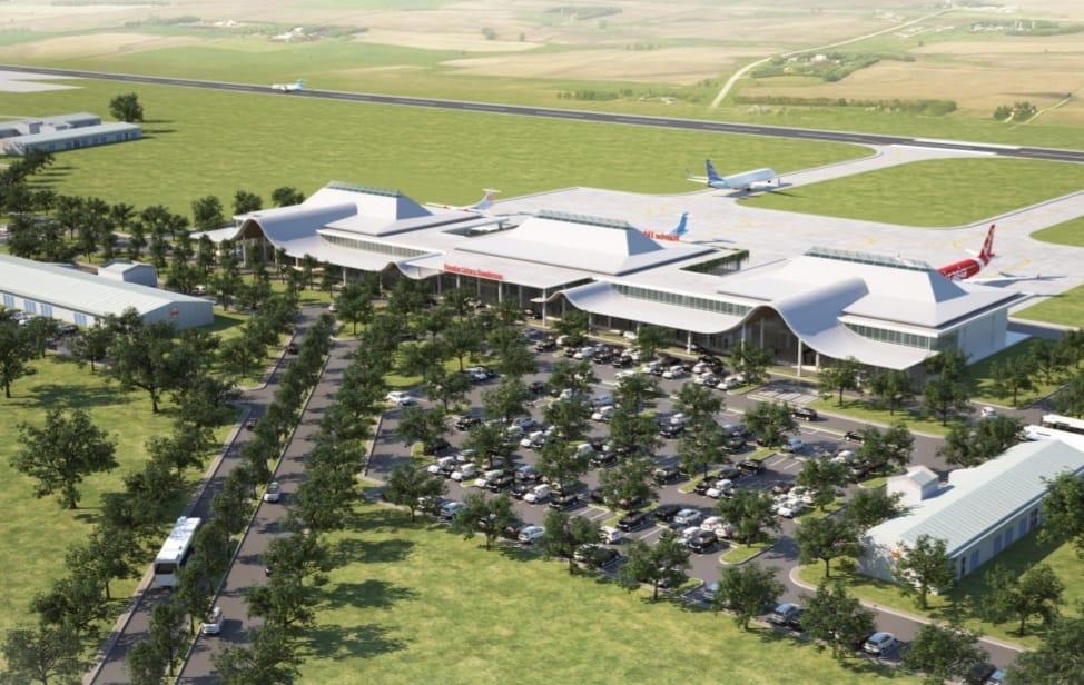 Konsep Bandara J. B. Soedirman tampak atas   Foto: Dok. Angkasa Pura II