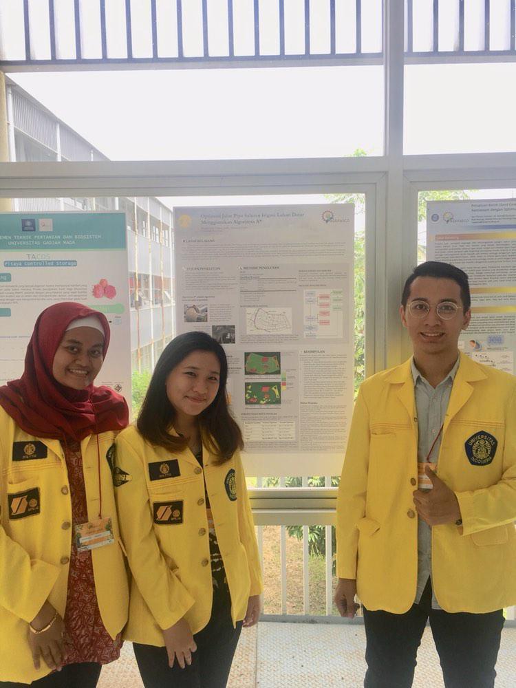 Kiri ke kanan: Rahmania Hanifa, Virginia Avrilla, dan Michael Ahli | Foto: Humas FTUI
