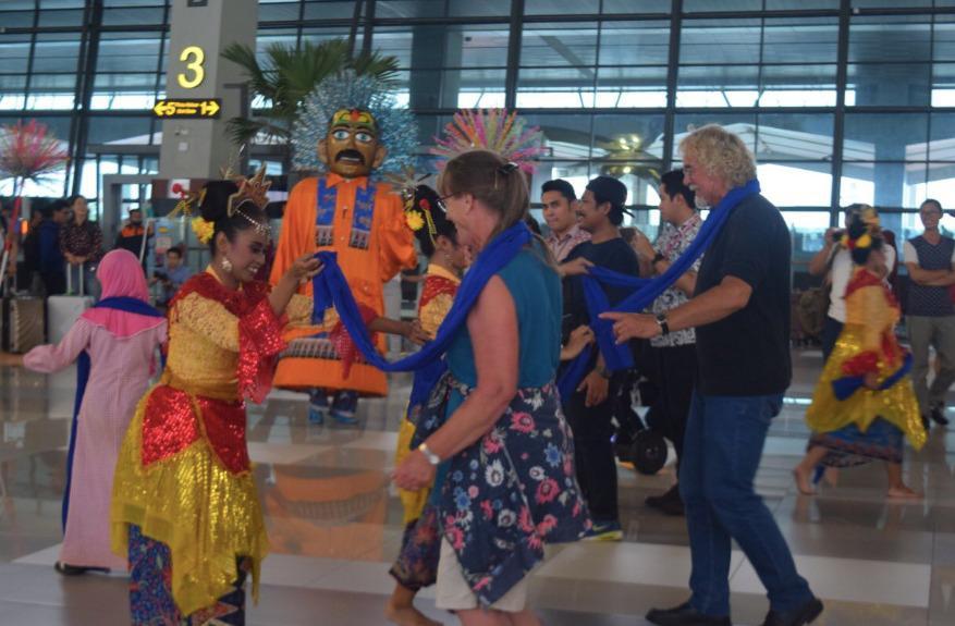 Aspek seni, budaya, dan pariwisata bakal terus dikembangkan untuk meningkatkan customer experience | Foto: Angkasa Pura II