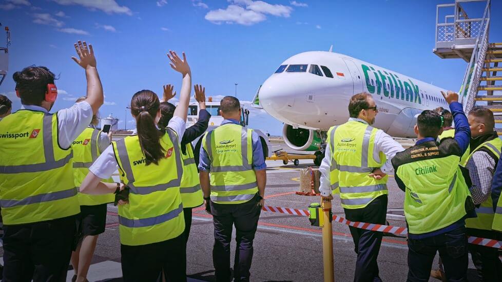 Kursi terisi 95 persen di penerbangan perdana Denpasar-Melbourne | Foto: Dok. Citilink Indonesia