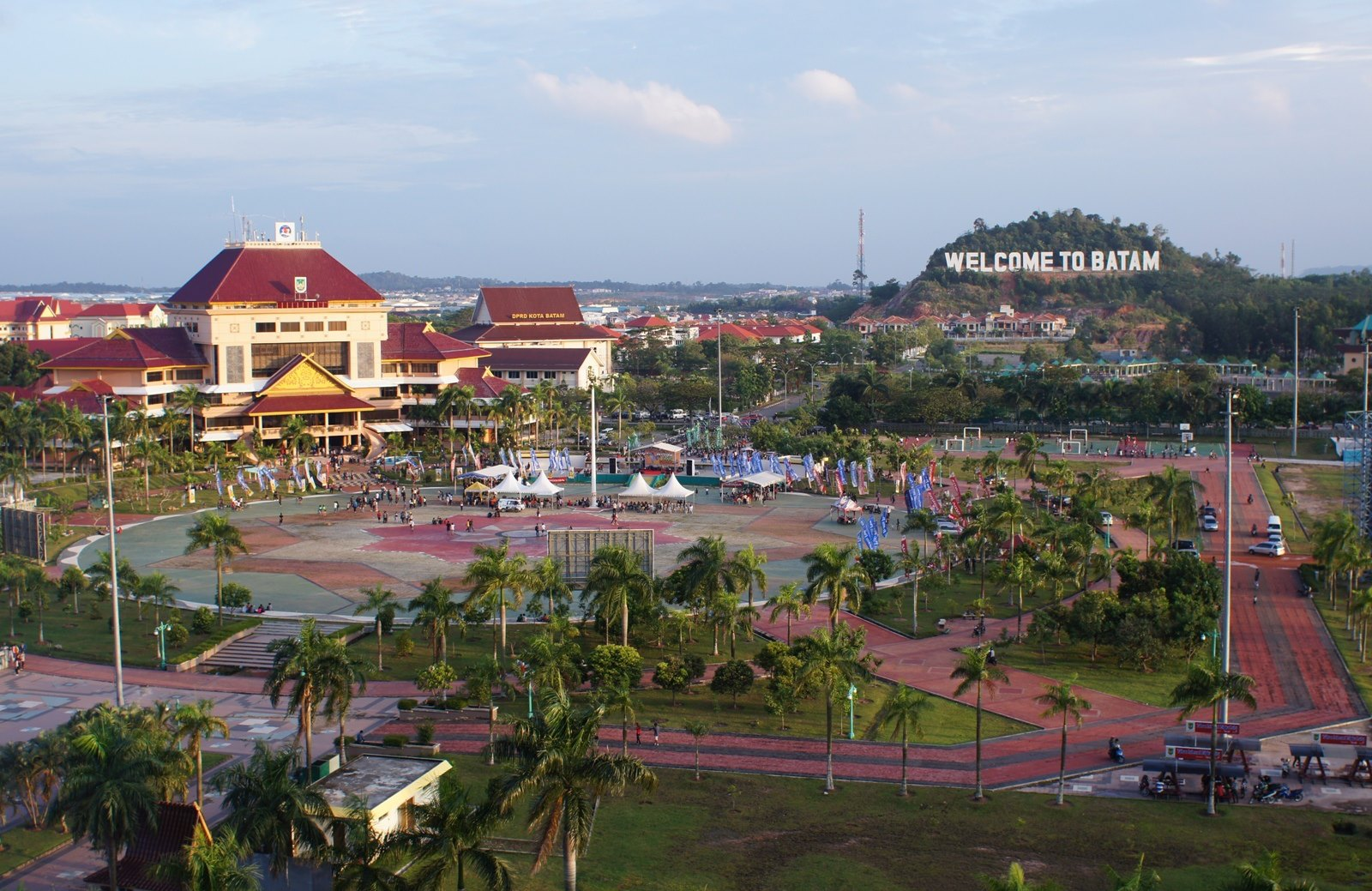 Alun-alun Batam | Foto: Travel Today