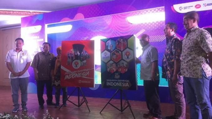 Peluncuran buku Pahlawan Olahraga Indonesia | Foto: Abdul Majid/Tribunnews