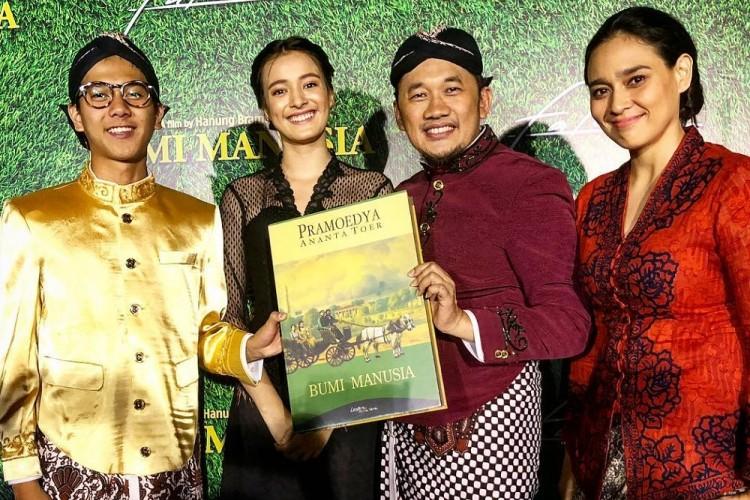 Film Bumi Manusia diangkat dari novel karya Pramoedya Ananta Toer   Foto: Instagram Hanung Bramantyo
