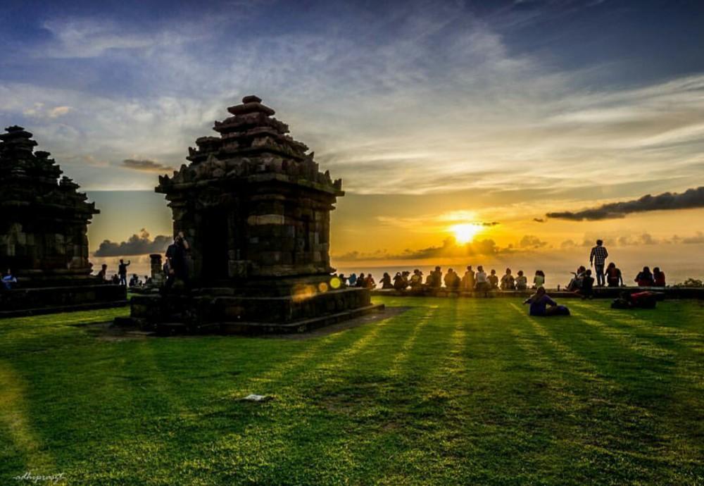 Sunset di Candi Ijo | Foto: Alodia Tour