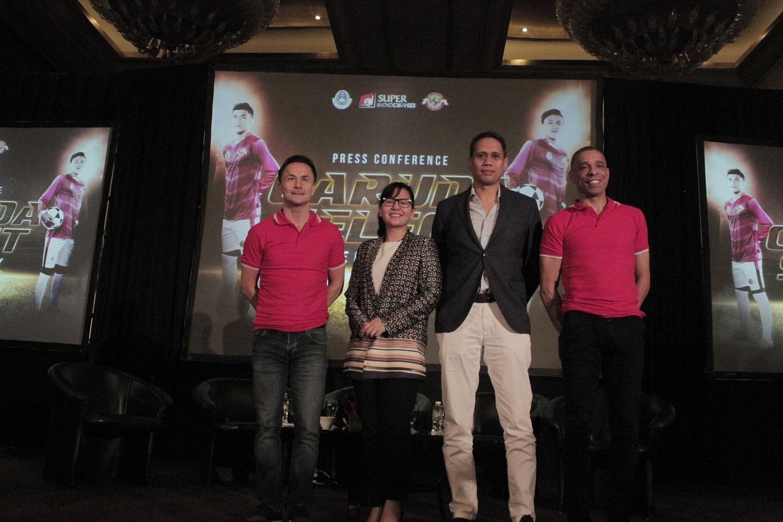 Program Garuda Select rencananya akan menjadi program tetap PSSI bersama SuperSoccer TV selama 10 tahun | Foto: SuperSoccer