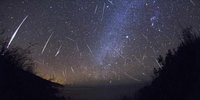 Hujan meteor orionid | Foto: IlmuGeografi.com