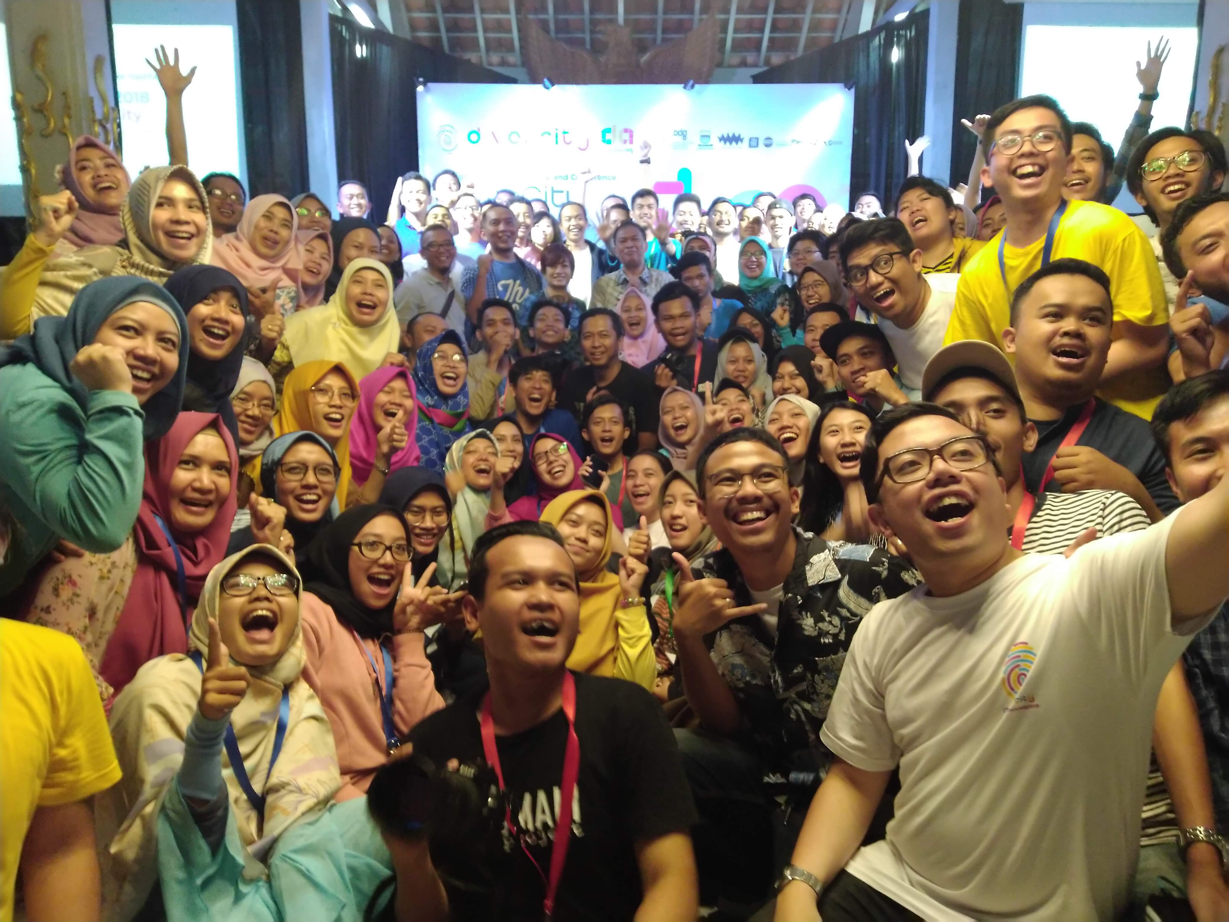 Peserta acara Divercity | Dok. GNFI