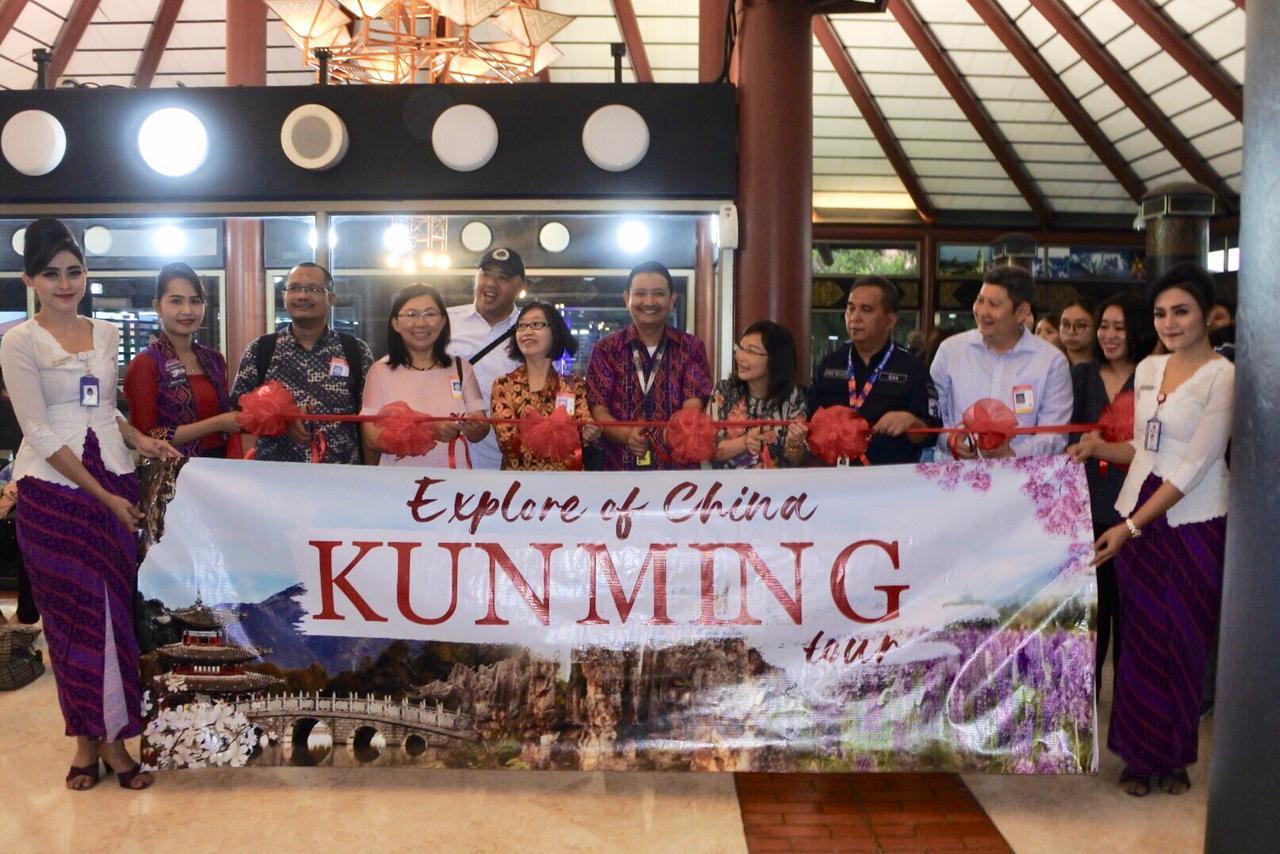 Inaugural penerbangan Batik Air Kunming-Jakarta | Foto: Batik Air