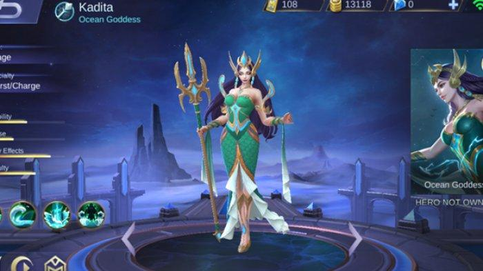 Karakter Kadita di Mobile Legends: Bang Bang | Foto: Moonton Indonesia