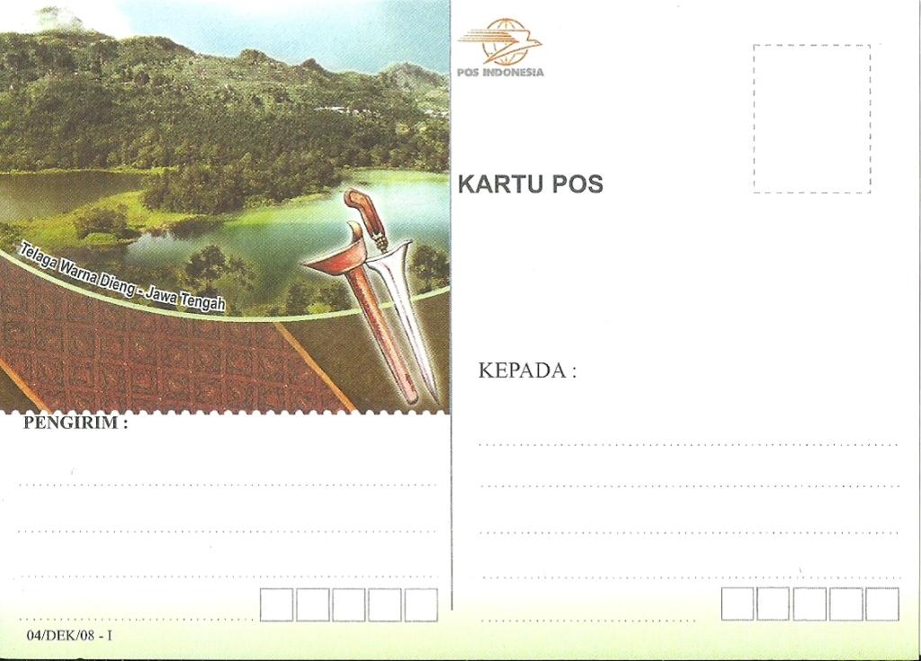 Kartu pos di Indonesia