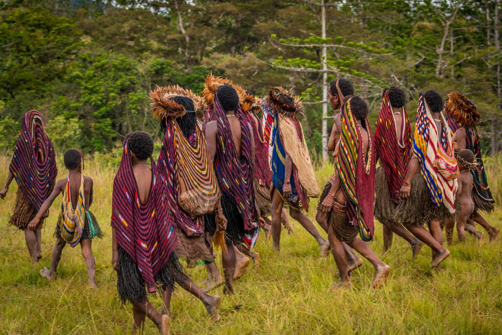 Mengenal Noken, salah satu tas tradisional Papua | Foto: Phinemo