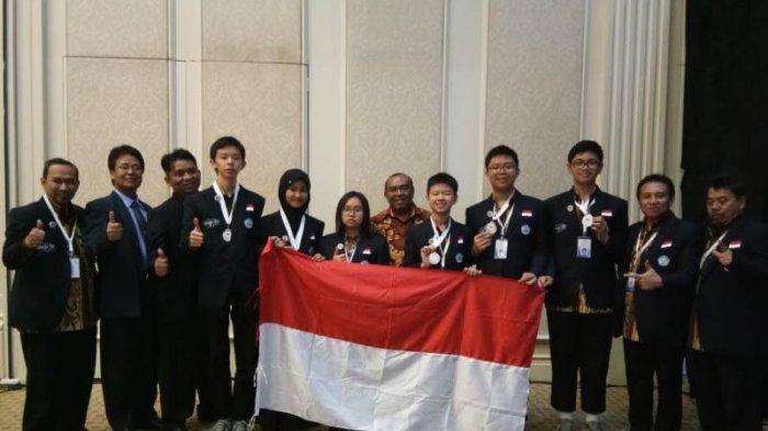 Para anggota kontingen Indonesia di Olimpiade Botswana | Foto: Kemlu