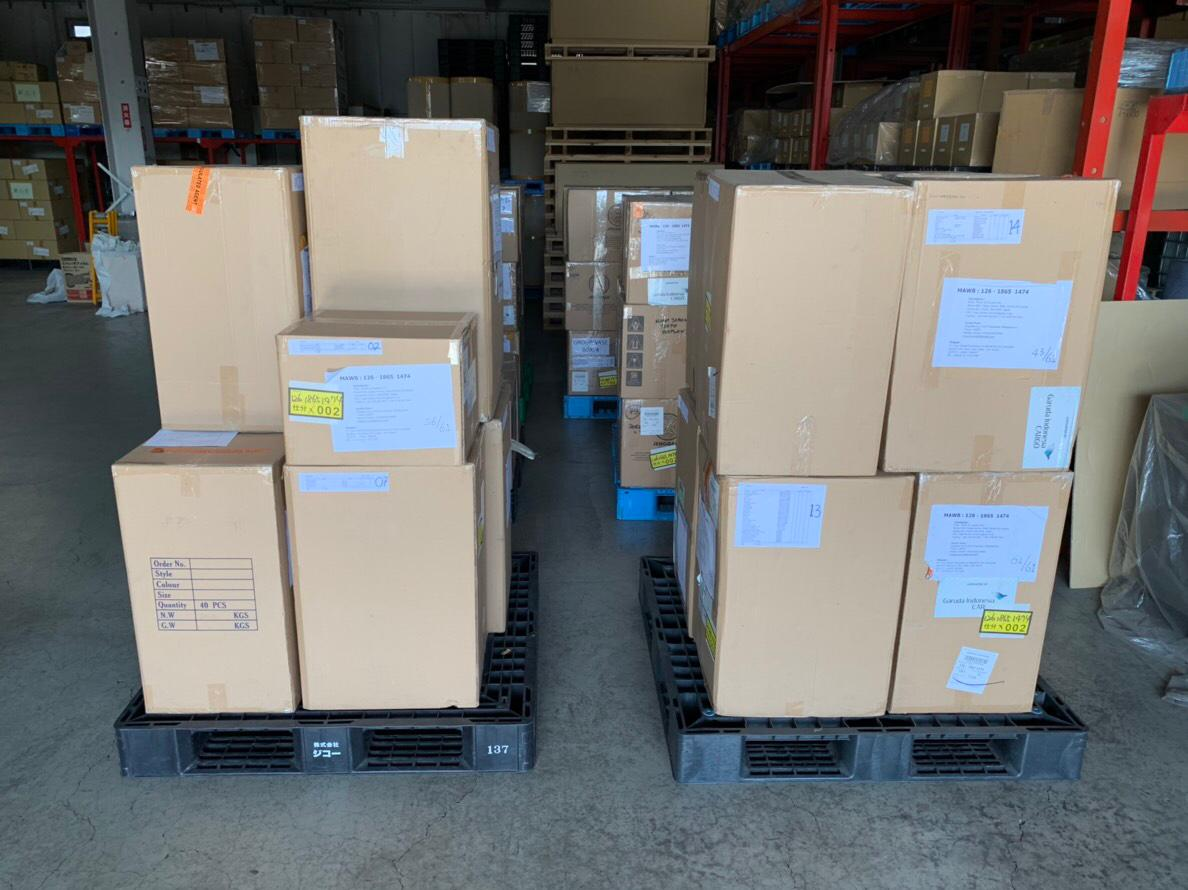 Produk-produk Indonesia tiba di Jepang | Foto: Dok. Ku Ka