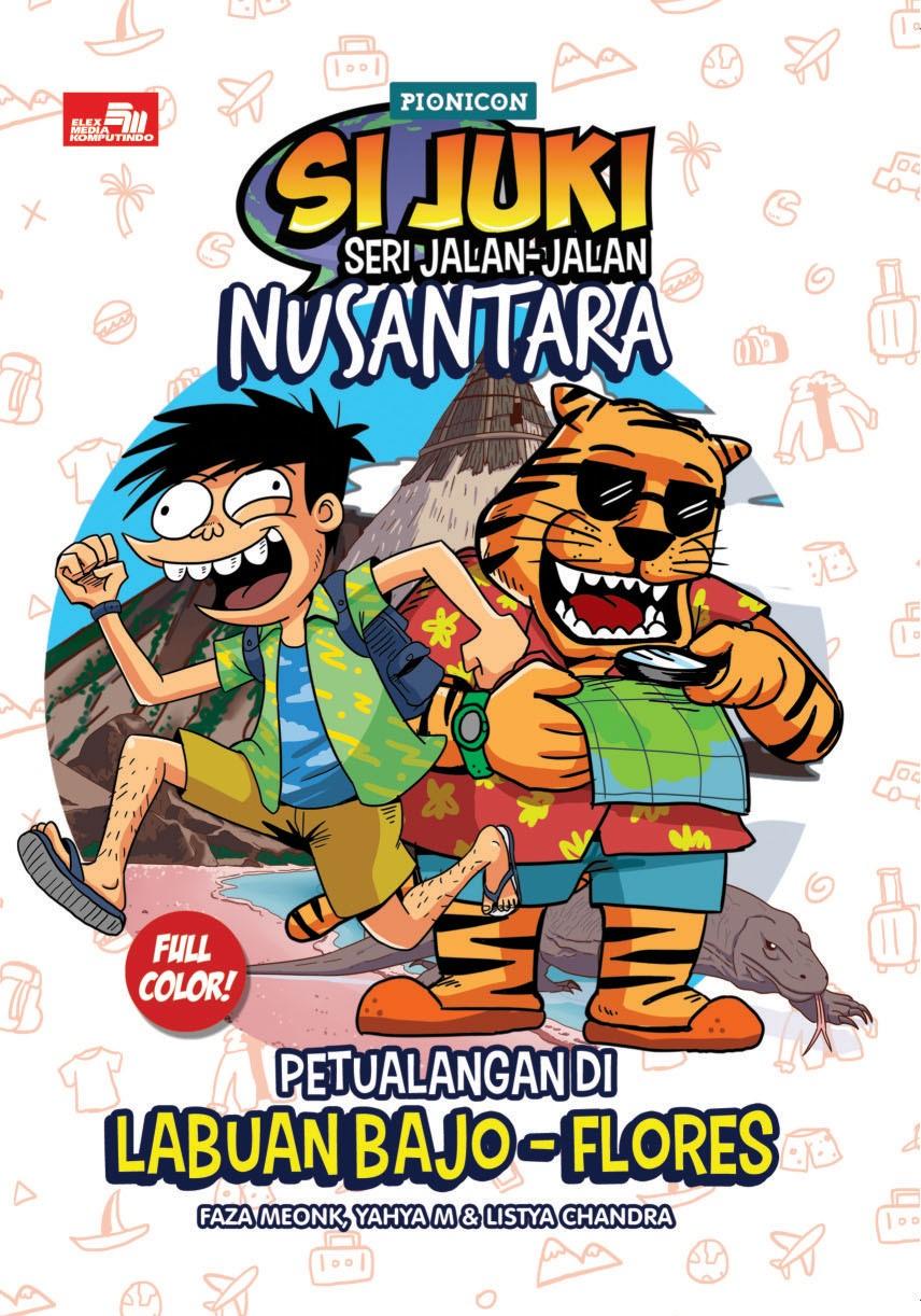 Kaver komik Si Juki edisi Labuan Bajo | Foto: Elex Media Komputindo