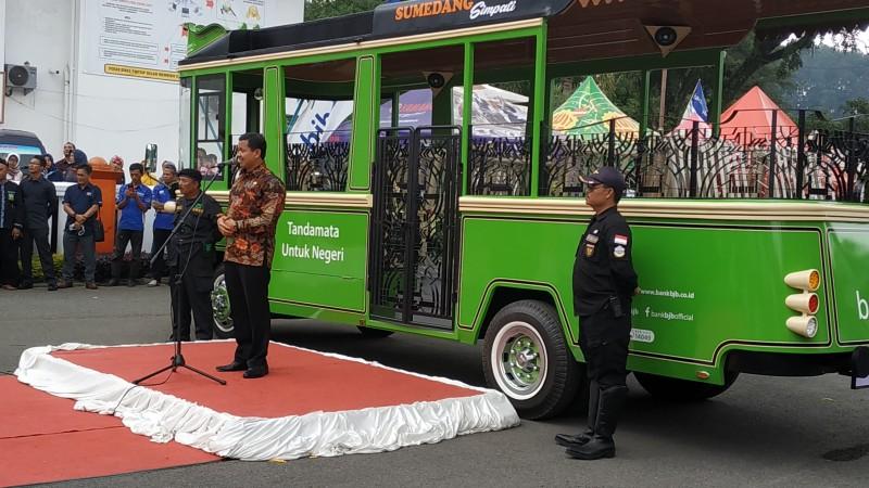 Peluncuran bus Tampomas | Foto: RRI