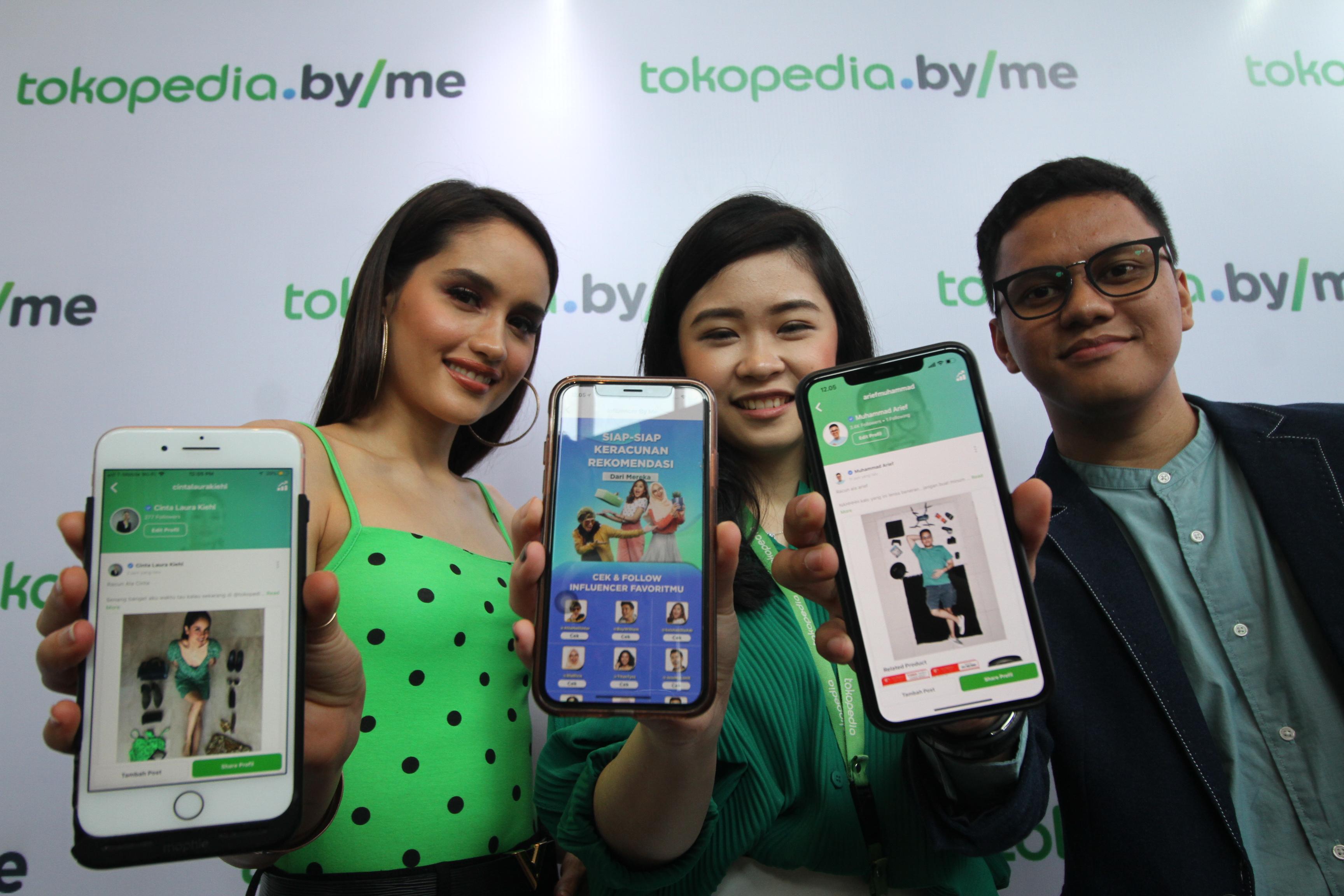 Peluncuran fitur Tokopedia ByMe | Foto: Tokopedia