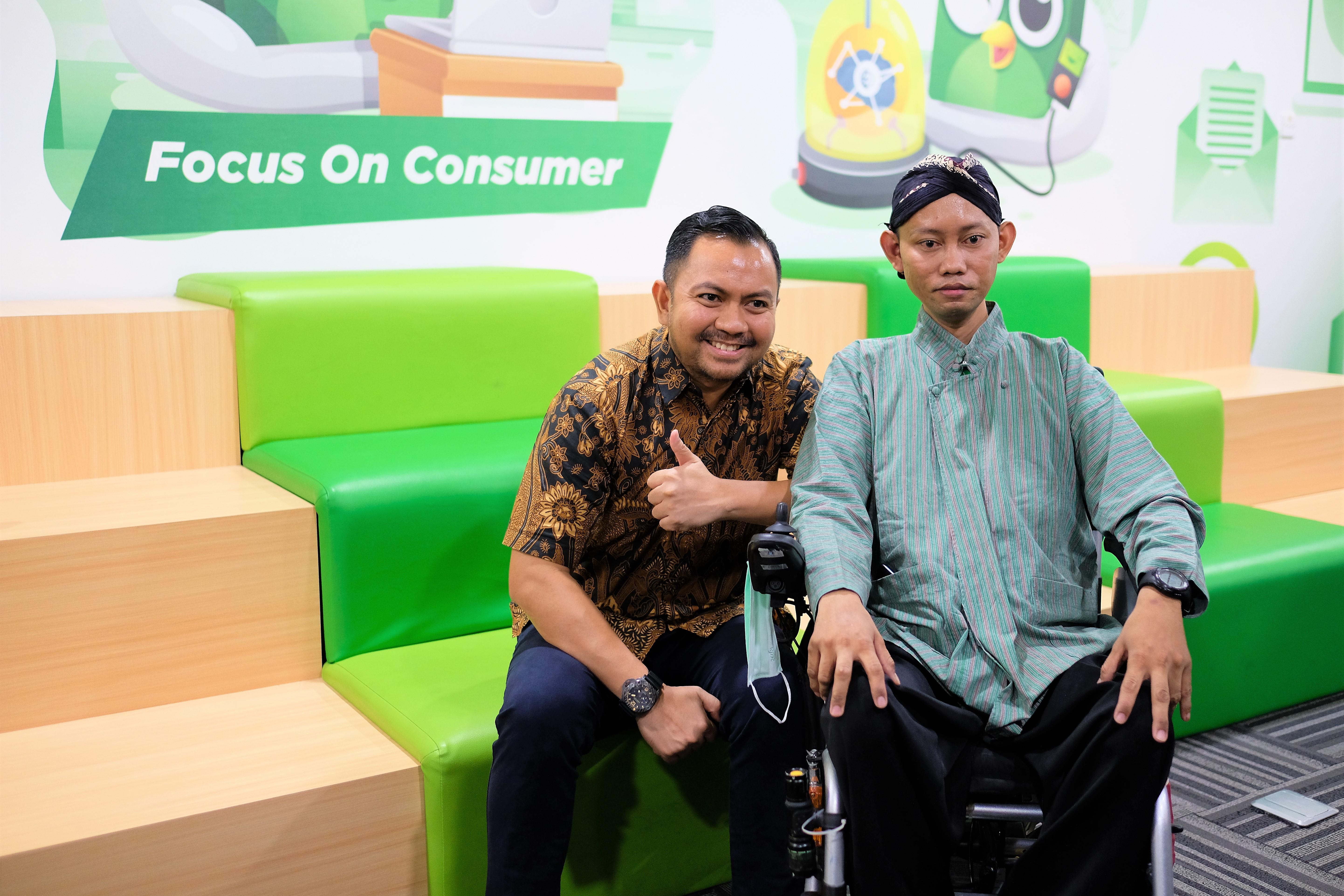 Tokopedia Care juga memperhatikan fasilitas untuk penyandang disabilitas | Foto: Tokopedia
