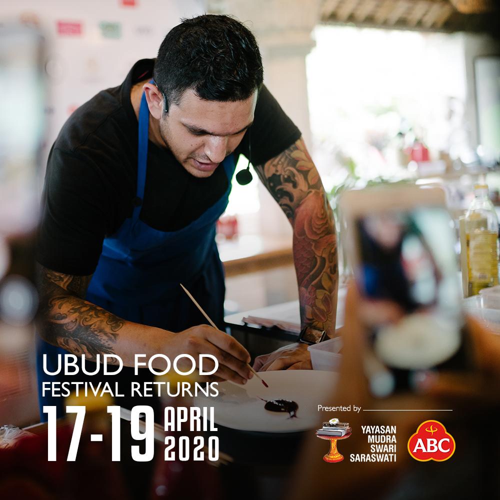 Poster UFF 2020 | Foto: Ubud Food Festival