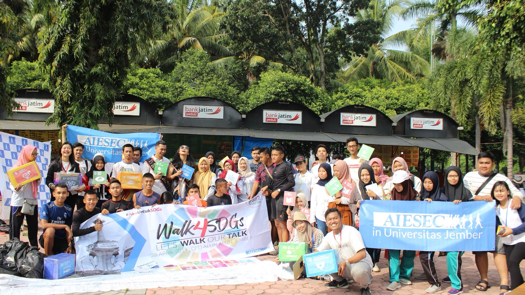 Walk for SDGs di Jember | Foto: AIESEC Indonesia