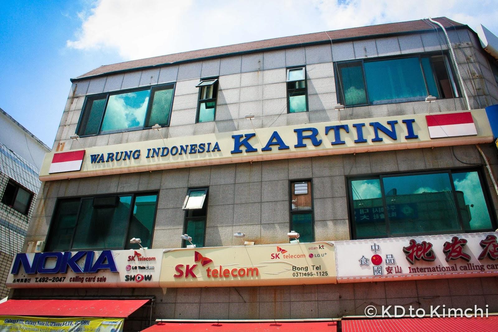 Warung Indonesia Kartini | KDtoKimchi