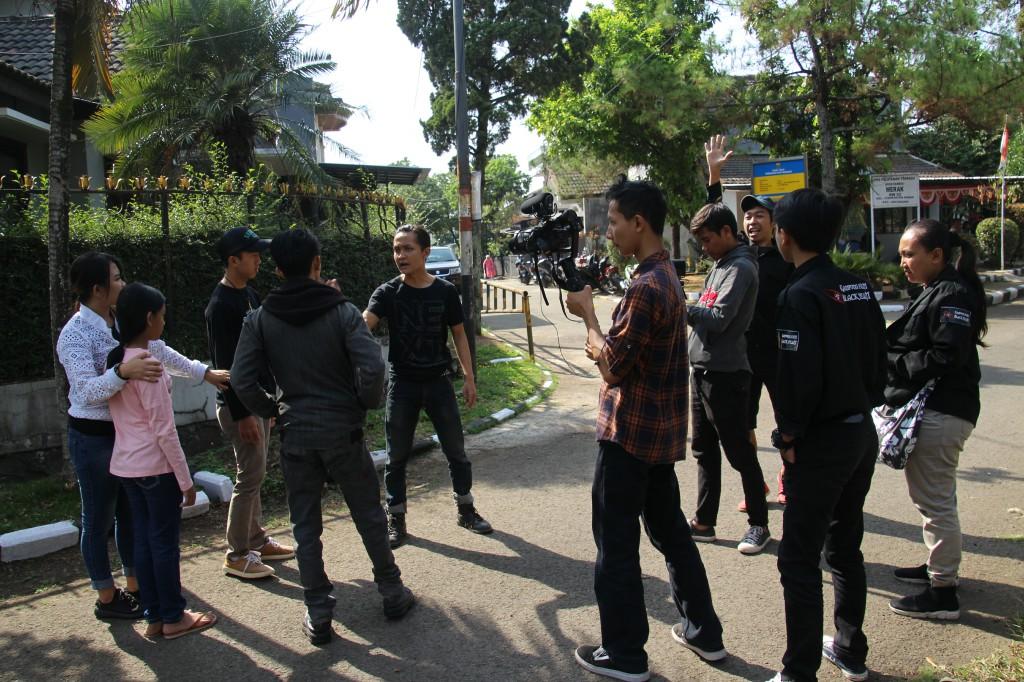 Proses shooting film Aku Ingin Menjadi Penari Jaipong | Dok. Gugum SA