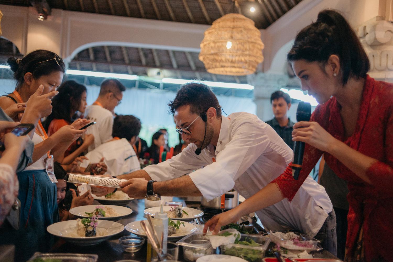 Suasana di Ubud Food Festival | Foto: Ubud Food Festival