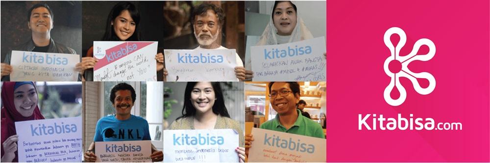 Dukungan dari para artis untuk KitaBisa (sumber : Directory Bitcoin - Bitcoin Indonesia)