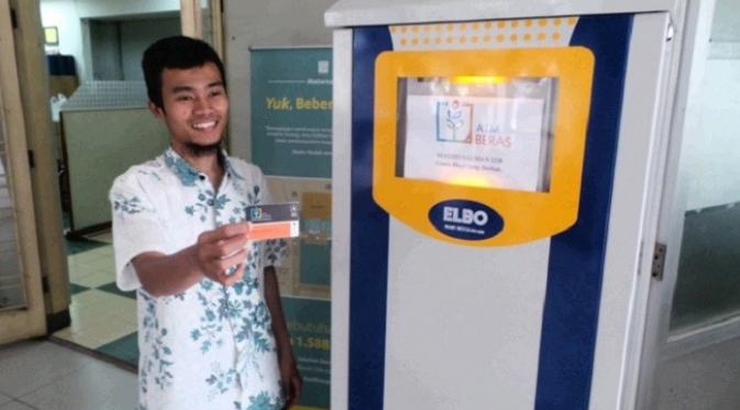 ATM Beras (Sumber : Liputan 6)