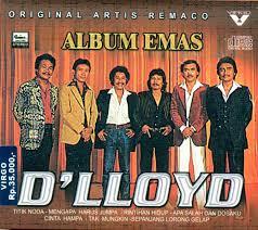Cover album emas D'Lloyd (sumber :Bukalapak.com