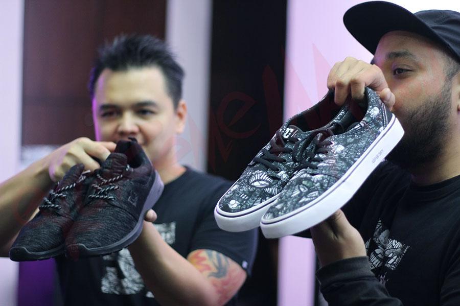 Darbotz dan sepatu kolaborasinya dengan DC Shoes (sumber : eXtremeINA)